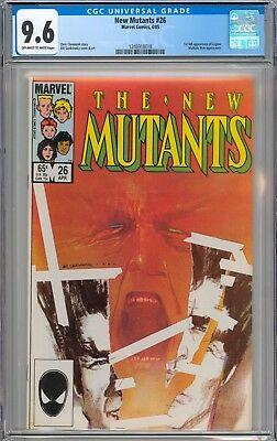 The New Mutants #26 CGC 9.6 NM+ 1st Full Appearance of Legion New Case
