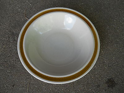 """Vintage Daniele Trailside Stoneware 6"""" SOUP/BERRY BOWL  Made in Japan"""