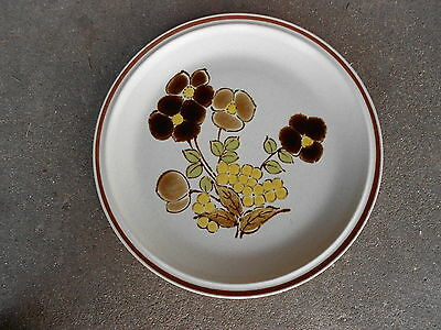Hearthside FOLIAGE TIME Stoneware Dinner PlateFloral Expressions JAPAN