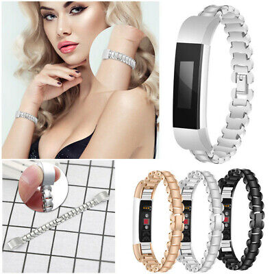 Strap Bracelet Watch Band For Fitbit Alta/Alta HR Replacement Metal Wrist Band