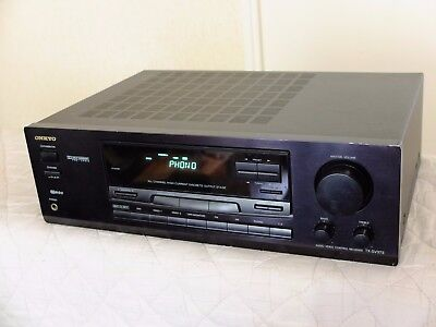 Audio video control receiver Onkyo TX-SV373 / Worldwide shipping