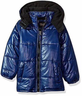 iXtreme Little Boys Classic Puffer, Navy, 6