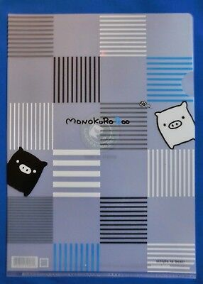 Cute Japanese plastic folder,Large San-X, MONOKURO BOO *Free Int shipping*