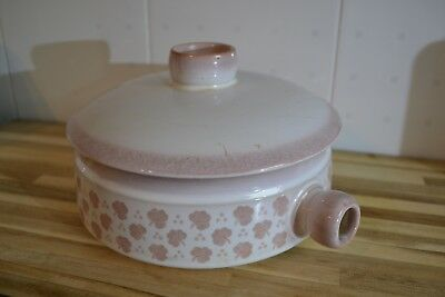 denby casserole dish  falling leaves vintage retro stoneware coffee pot water