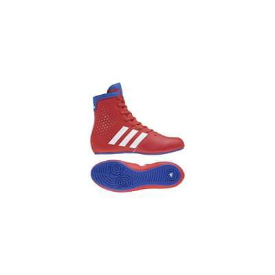 Adidas Boxing KO Legend 16.2 Kids Boxing Boots - Red White Blue