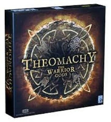Theomachy The Warrior Gods Exp Board Game Brand New & Sealed