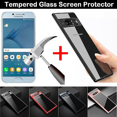 Tempered Glass Screen Protector Case Cover For Samsung Galaxy J3 / J5 2016 2017