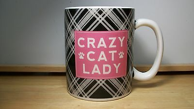 Crazy Cat Lady Coffee Mug Large