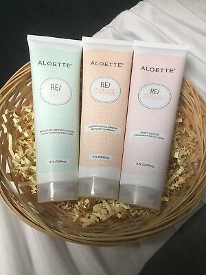 Gift Basket Spa Treatment At Home By Aloette  3 Piece Set