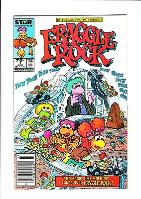 Fraggle Rock (1986) (#1-8) - 8 Issue Comic Run - Marvel/star