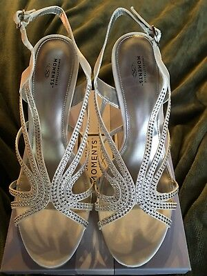 Unforgettable Moments Wedding Or Prom Heels Size 9 1/2