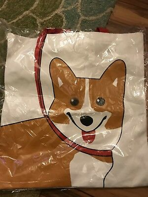 Cute Corgi Tote Bag