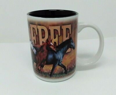 American Expedition Coffee Mug 16 oz Mustang Horse