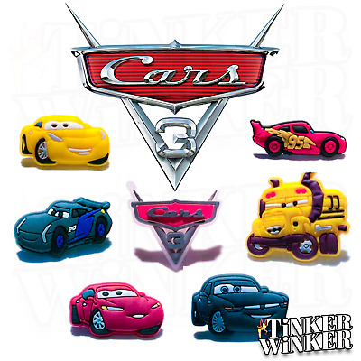 CARS 3 - Schuhpins Crocs Clogs Jibbitz Pin Pins Disney Jackson Storm Lightning