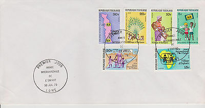 Togo, FDC - International Year of the Child 1979 and SOS. Jahr des Kindes 1979