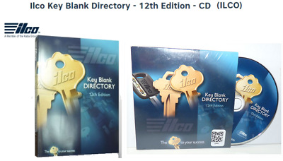 ILCO KEY BLANK DIRECTORY 12th EDITION  PLUS ALL UPDATES & SUPPLEMENTS - EXTRAS