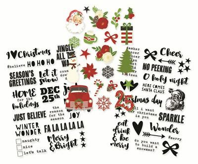 Simple Stories ~ VERY MERRY ~ Clear Stickers