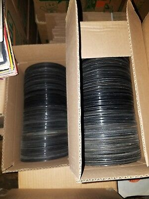 """AWESOME LOT OF 50 45RPM RECORDS-  VINYL- RECORDS JUKEBOX- 7"""" Rock, Pop, Country"""