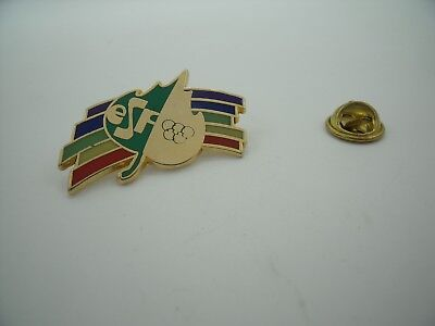 Pin's Pins Pin Badge ESF Ecole Du Ski Français French Ski School TOP