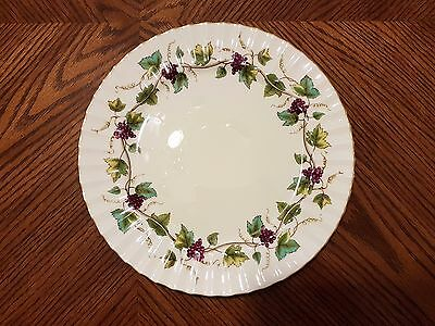 ROYAL WORCESTER Bone China BACCHANAL CREAM Dinner Plate 10 1/2""