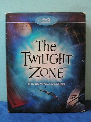 Twilight Zone: The Complete Series (1959-1964) (Blu-ray Disc, 2012, 24-Disc Set)