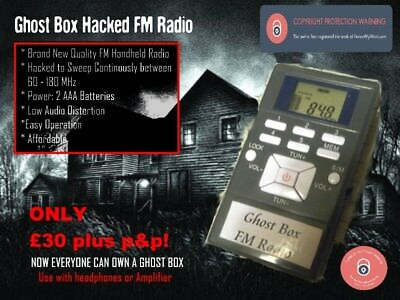 Genuine Ghost Box FM Radio Sweep Franks Spirit Box