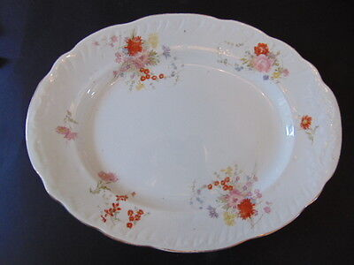 Booths Royal Semi Porcelain Meat/Serving Plate In Good Condition