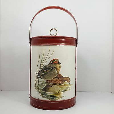 Georges Briard Green Winged Teal Duck Ice Bucket