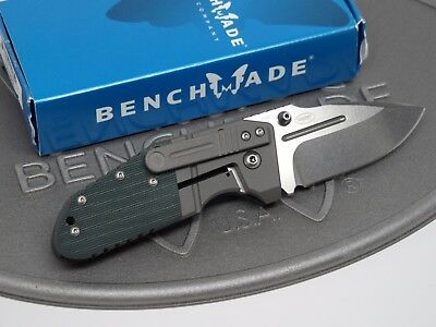 Benchmade 755 MPR Shane Sibert M390 Titanium Mono-Lock G10 Folding Knife