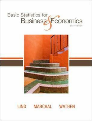 Basic Statistics for Business and Economics by William G. Marchal, Samuel A....