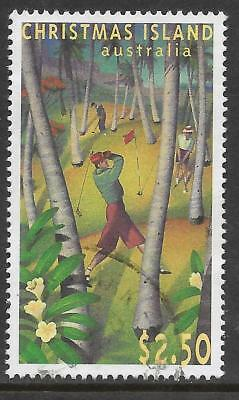 CHRISTMAS IS 1995 40th ANNIVERSARY GOLF COURSE 1v Fine Used (No.2)