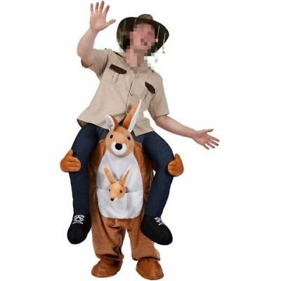 Carry Me Kangaroo Ride On Piggy Back Mascot Fancy Party Dress Costume