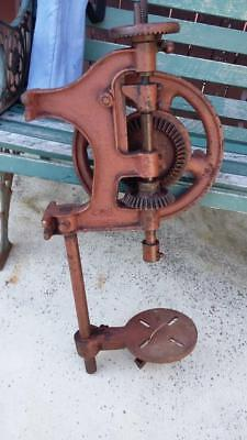 Vintage Drill Press.shed,old,blacksmith,sheet metal,garage,tools,workshop,steel