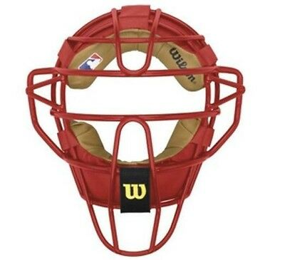 Wilson Catchers Mask Dyna-Lite WTA3010 - scarlet