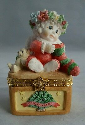 Angel Trinket Box Dreamsicles Baby's 1st Christmas Trinket Treasure Box