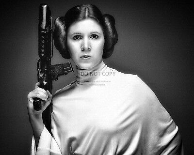 Actress Carrie Fisher Princess Leia Star Wars - 8X10 Publicity Photo (Op-970)