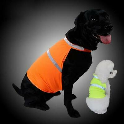 Tradie Fluro Reflective Dog Vest Clothes Hi Vis Fun Hunting Safety Gear