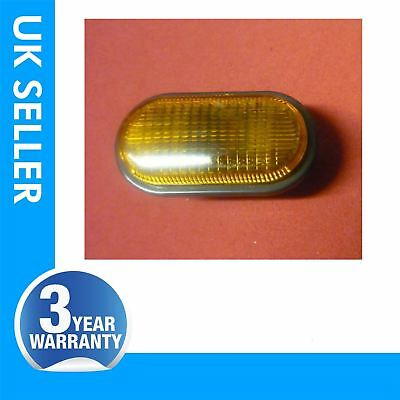RENAULT ESPACE KANGOO TWINGO side indicator repeater lens light amber colour