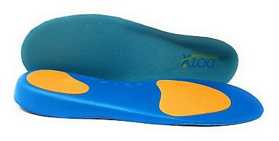 Orthotic Insoles Arch Support Plantar Fasciitis Flat Feet Back Heel + Joint Pain