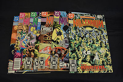 Millennium Comic Books 7 Lot 1 3 4 5 6 7 8 FN VF