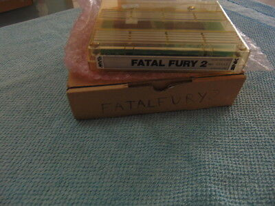 Fatal Fury 2 / Cart & Schachtel Only / Original Neogeo Mvs 627 - 44