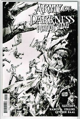 ARMY OF DARKNESS FURIOUS ROAD #4 Cover A  Dynamite NM Comic Vault 35