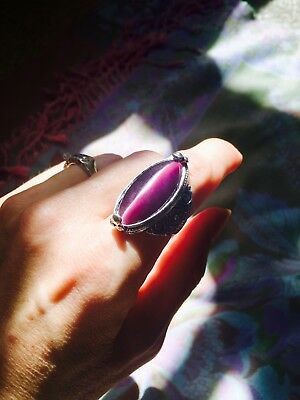 Psychic Powers Ring Wiccan Magick Ascension paranormal metaphysical haunted