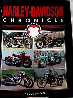 Harley Davidson An American Classic By Doug Mitchell Motorcycle Book 2001
