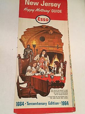 1964 Vintage New Jersey Esso Oil Tercentenary Edition Humble Oil