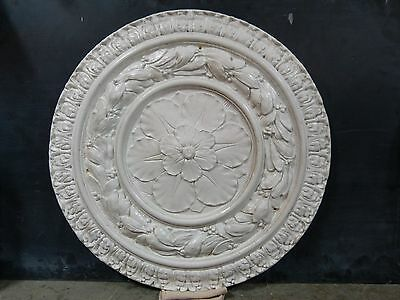Large Cast Plaster Ceiling Medallion Indianapolis, IN Victorian Salvage
