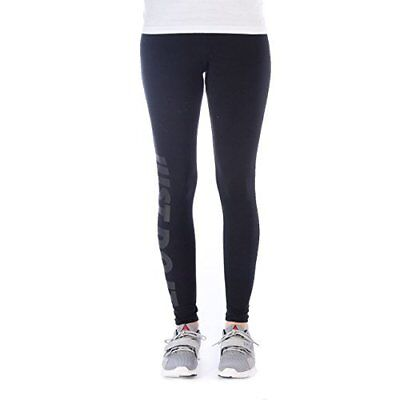 826575-010 New with tag Nike women JUST DO IT  leg-A-see legging Pant Black