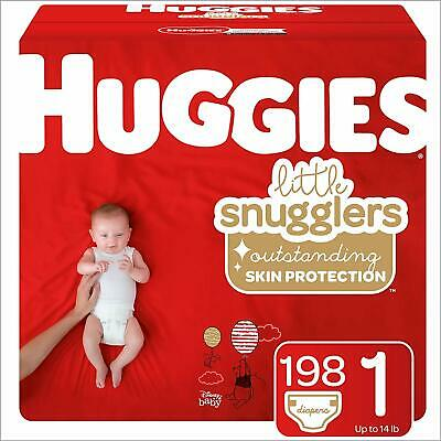 ***NEW*** Huggies Little Snugglers Diapers Size 1, 216 Count ***FREE SHIPPING***