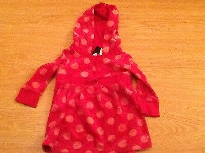 Lovely Girls baby Gap hooded dress age 12-18 months.