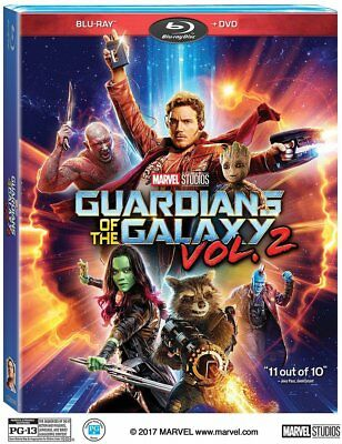 Guardians of the Galaxy 2017 Vol. 2 (Blu-Ray + DVD) - Free and Fast Shipping